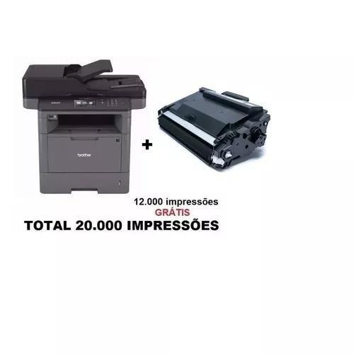Multifuncional Brother 5652 Dn + 01 Toner Extra Original 12k