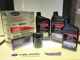 Kit De Aceite Y Filtro Polaris Diferentes Rzr