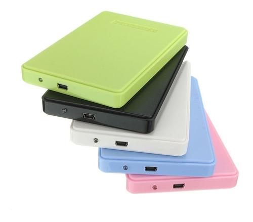 Case Carry Externo Notebook 2.5 Usb 2.0 Disco Sata