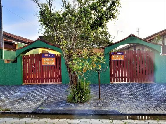 Casa Isolada Em Mongaguá!! Ref. Ca0101