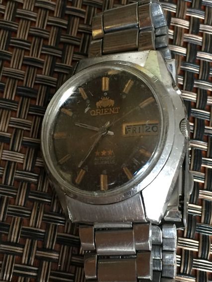 Relógio Original Automático Orient Masculino