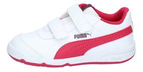 Zapatillas Puma Niños Stepfleex 2 Sl V Inf Blanco Rosa-2917