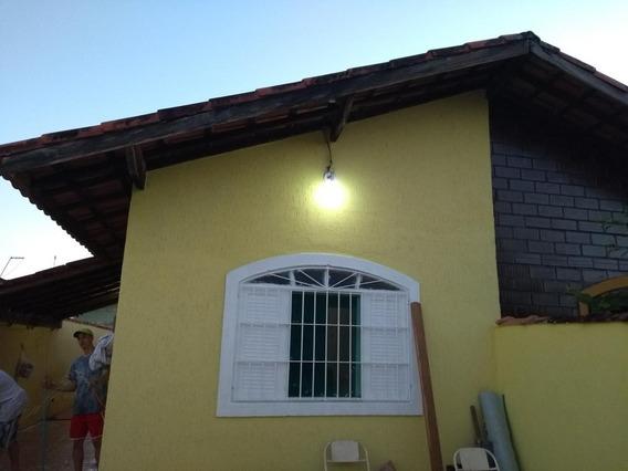 Casa Mongaguá, Pronto Pra Morar - +ou- 700 Mts Da Praia.
