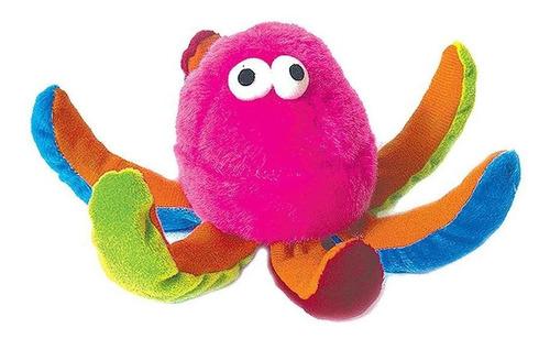 Brinquedo Cachorro Pet Pelucia Polvo Colorido Com Apito