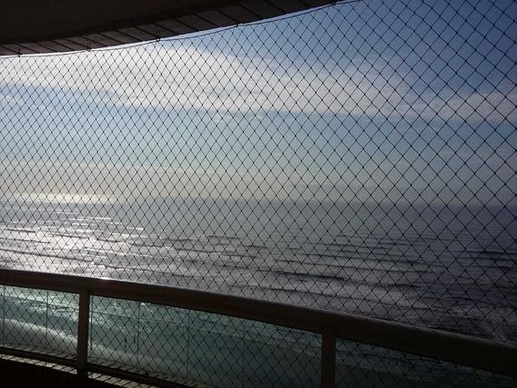 Apartamento 1 Quarto Frente À Praia, Caiçara - Praia Grande