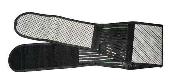 2 Fajas Cinturón Imanes Turmalina Calienta Lumbar Envio Grat