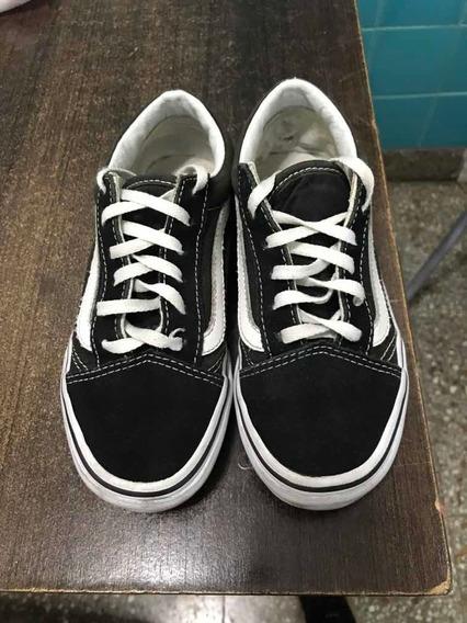 Zapatillas De Niño Vans Originales Talle 32