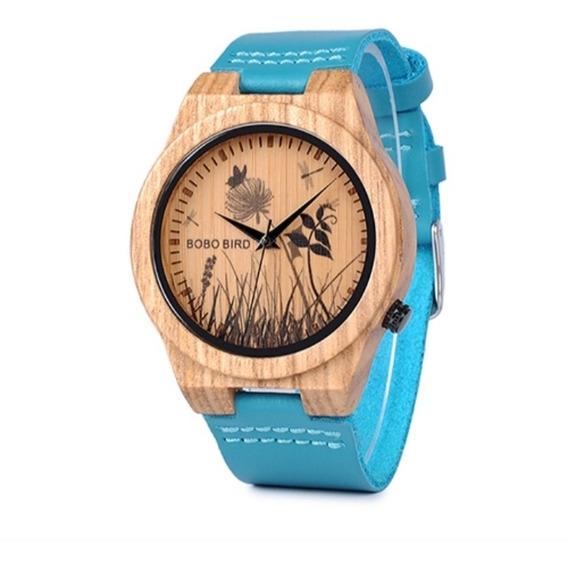 Reloj De Madera Bobo Bird