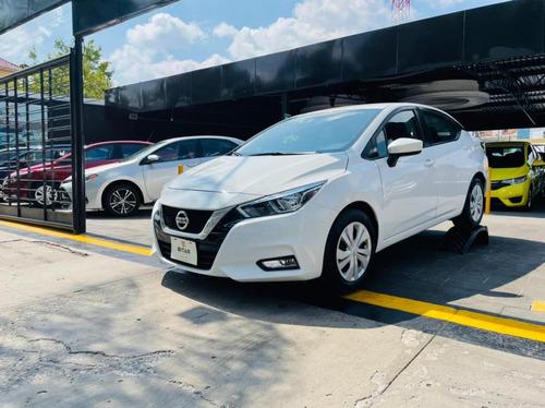 Imagen 1 de 8 de Nissan Versa Sense Blanco 2020