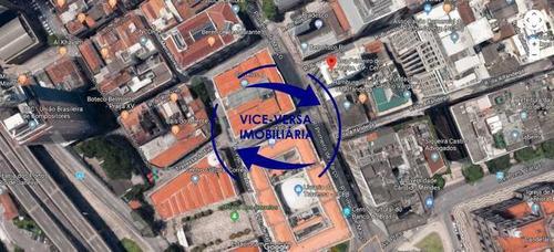 Imagem 1 de 9 de Loja Comercial À Venda Na Rua Primeiro De Março, Esquina Com Buenos Aires - 44m² - 1323