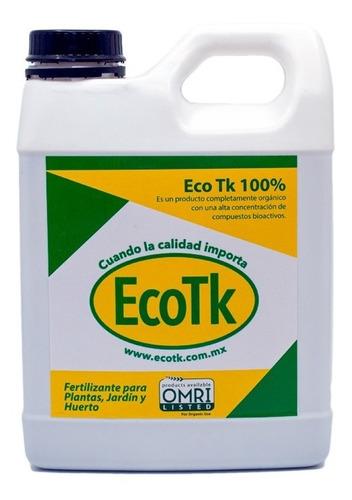 Fertilizante Eco Tk 100% Para Plantas, Jardín Y Huerto 1 Lt.