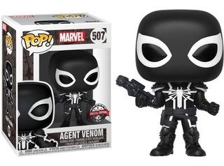 Figura Funko Pop Marvel Agent Venom W/ Chase 507. Original