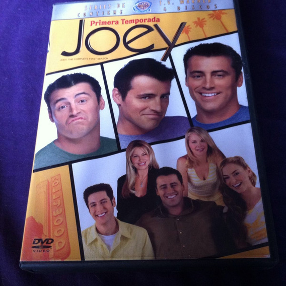 Joey Primera Temporada Friends 4dvds 525min 24episodios
