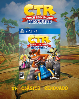 Crash Team Racing Ps4 Juga C/ Tu User La Tienda Digital