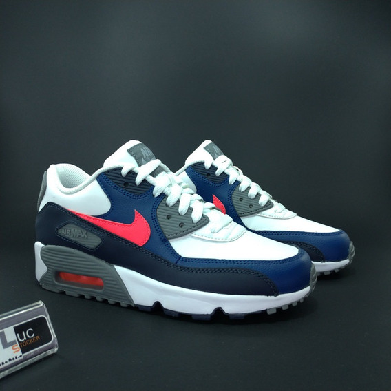 Tênis Nike Air Max 90 Leather 100% Original