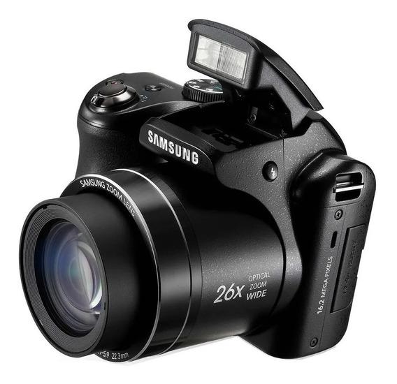 Camera Samsung Wb100 16.2 Megapixels Original Zoom Óptico