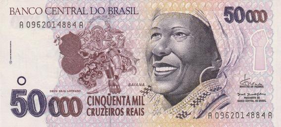 C 240 - 50 Mil Cruzeiros Reais , Bahiana Flor De Estampa