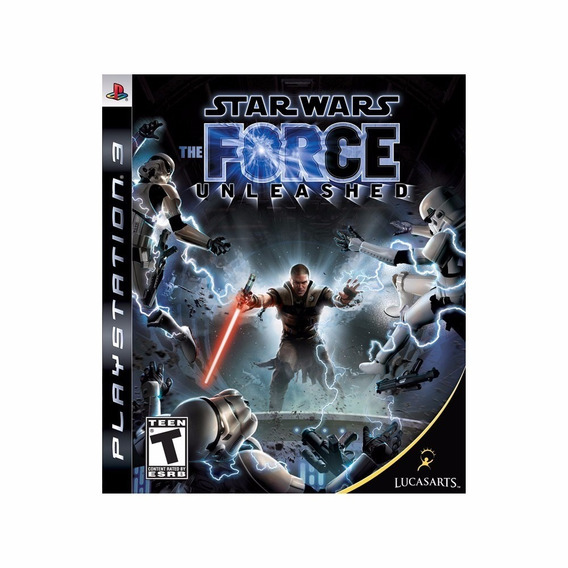 Star Wars The Force Unleashed Ps3 Promo Pague 1 Leve 2