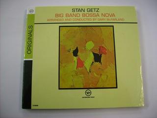 Cd Stan Getz - Big Band Bossa Nova (remaster 2008) Europeu