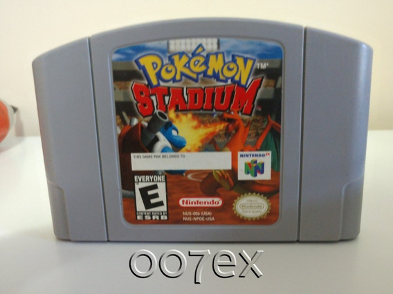 Pokemon Stadium Original + Transfer Pak Para Nintendo 64