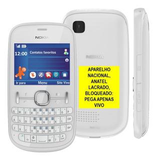 Celular Nokia 201,2g,só Vivo -não Pega Em Mg,1chip,nacional