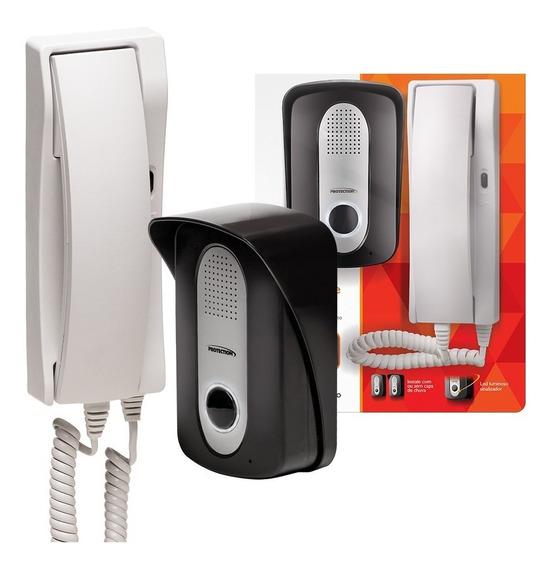 Porteiro Eletrônico Interfone Residencial Inviolável Pt-270