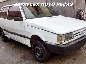 Sucata Fiat Uno Mille 1.0 2 Pts 1991 Para Retirada De Peças