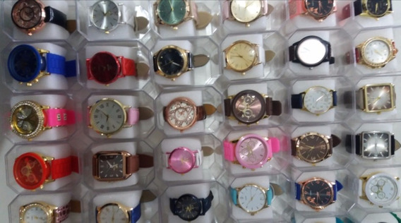 Relógios Kit C/ 15 Preço De Atacado Bem Barato, Masc/fem.