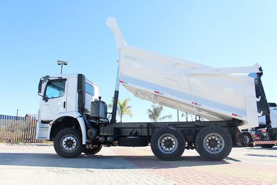 Caminhão Vw 31280 6x4 - 2014 Caçamba Meia Cana Minerio