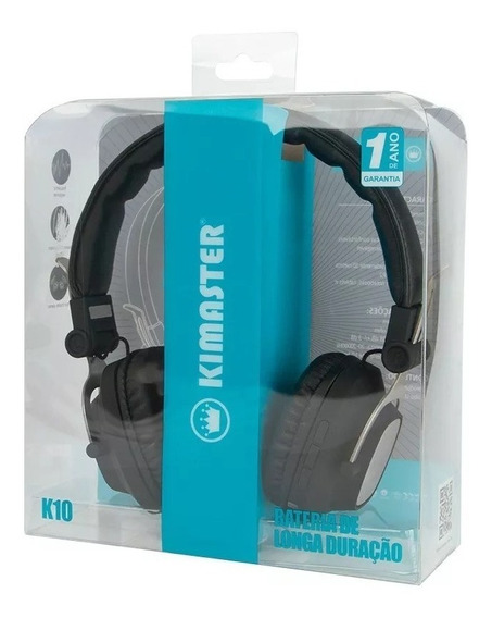 Headphone Bluetooth Kimaster K10
