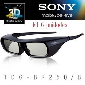 Kit Com 6 Óculos 3d Ativo Sony - Tdg-br250