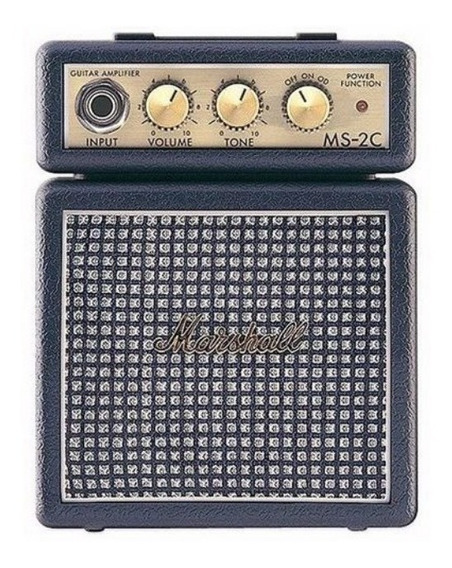Mini Amplificador De Guitarra Marshall Ms-2c