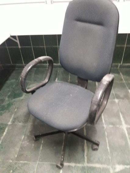 Cadeira Giratória Para Escritório Com Apoio De Braço