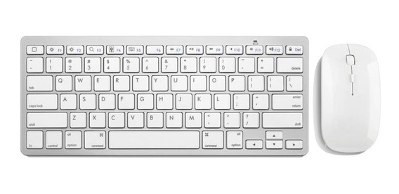 Kit Teclado Mouse S/ Fio 2.4g Branco Slim Tc203 Multilaser