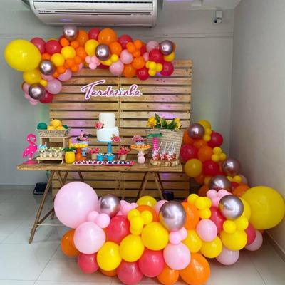 Decoração Personalizada Com Balões