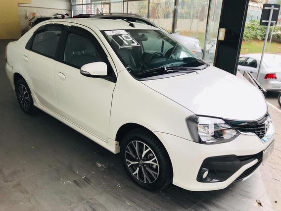 Toyota Etios Sedan Platinum 1.5 (flex) (aut) 2019