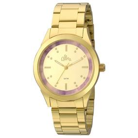 Relógio Allora Feminino Al2035fkj/k4n + Colar + Brincos