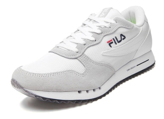 Zapatillas Fila Euro Blancas +envío Gratis ¡talles 46 Al 49!