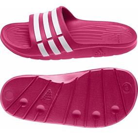 Chinelo adidas Duramo Slide Infantil G06797 Rosa Original