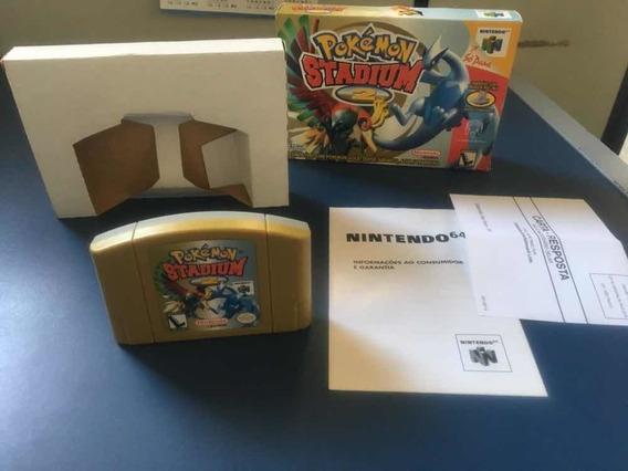 Pokemon Stadium 2 Nintendo 64 Nacional Gradiente Na Caixa
