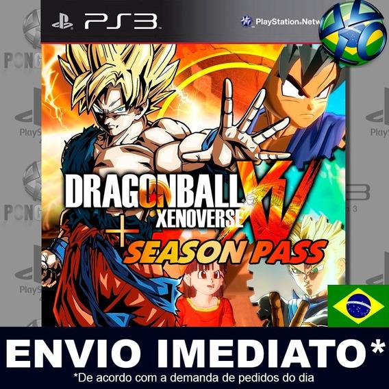 Dragon Ball Xenoverse + Season Pass Ps3 Psn Jogo Em Promoção