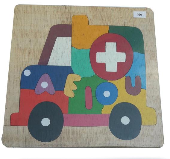 Rompecabezas Con Dibujo De Ambulancia