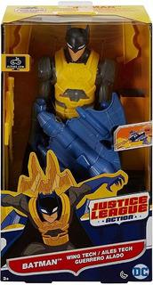 Batman Con Armadura Dc Justice League Original
