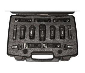 Kit De Microfones Lexsen Para Bateria Ldk7 + Nf E Garantia!