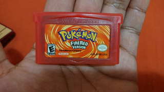 Pokemon Fire Red Versión Gba