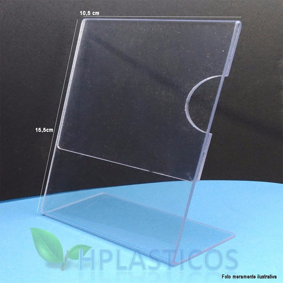 Display Porta Retrato Simil Acrilico A6 Kit 3