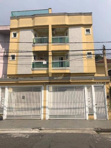 Apartamento Com 3 Dormitórios À Venda, 160 M² Por R$ 580.000,00 - Jardim Santo Antônio - Santo André/sp - Ap0303