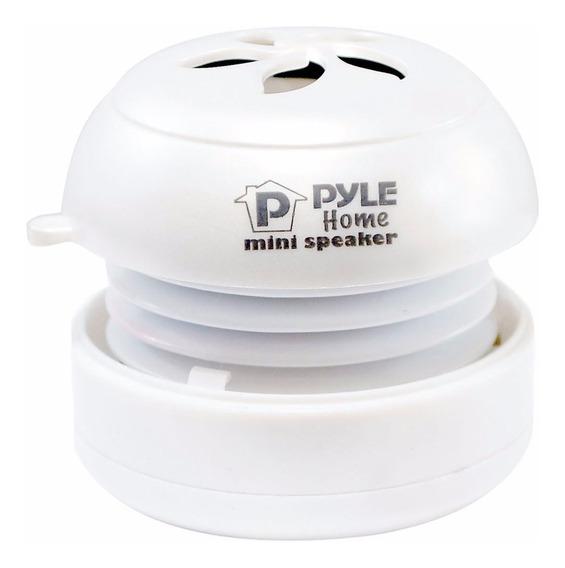 Mini Parlante Portatil Pyle Pms2w Usb 3,5 Mm