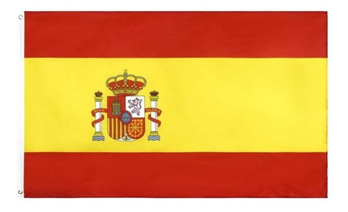Imagen 1 de 3 de Bandera De España 90 X 150 Cm