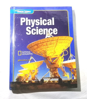 Libro Glencoe Physical Science Student Edition